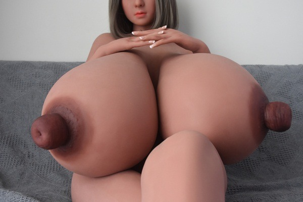 Busty Sex Doll 5ft3' Huge Boobs M-Cup Two Hole in Nipples