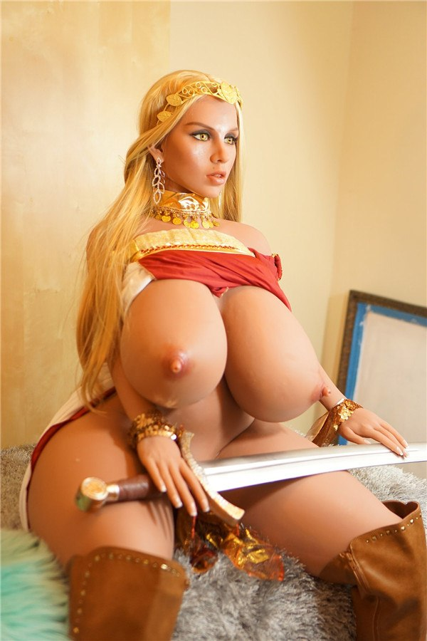 4.79ft Roman Warrior Woman Sex Doll With O Cup Boobs